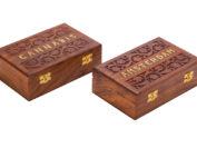 קופסאת אחסון מעץ -95 CANNABIS WD-96